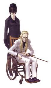 """Un vieillard muet, vêtu en blanc, qui vit au cœur du Labyrinthe d'Amala en compagnie d'une femme en noir au visage voilé, plus jeune que l'assistante de l'enfant.   Il partage avec le héros, par l'intermédiaire de sa compagne, sa connaissance des tenants et aboutissants de la Conception à chaque Kalpa franchi.  Son identité est dévoilée dans la fin """"True Demon""""."""