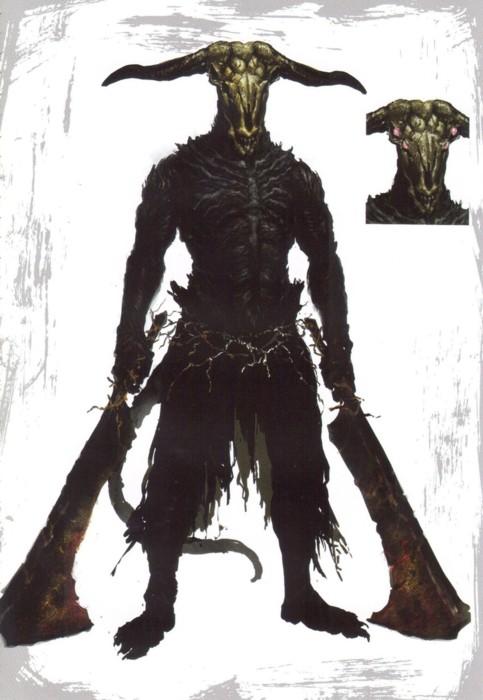 dark-souls Démon Capra