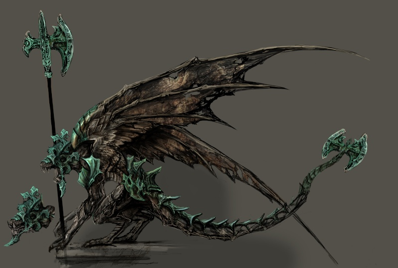 dark-souls Gargouilles