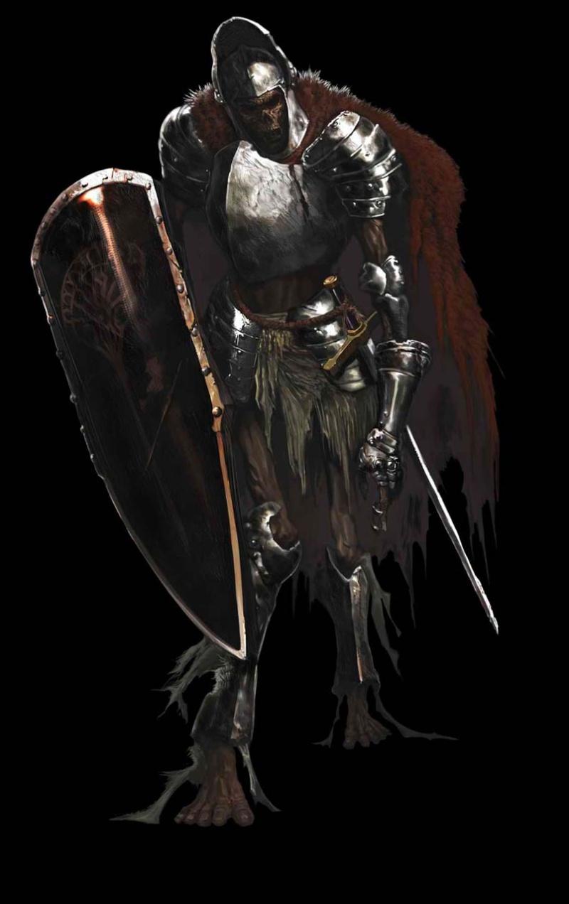 dark-souls Soldat Carcasse