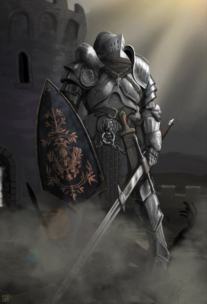 dark-souls chevalier