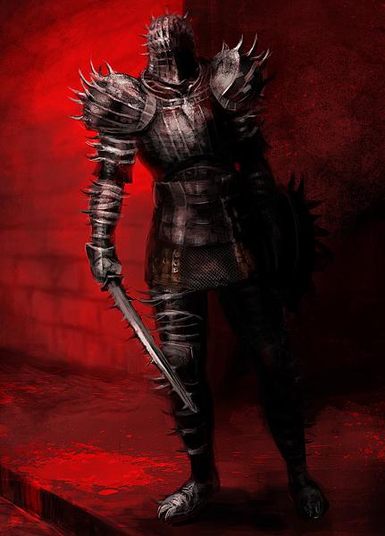 dark souls - chevalier pique