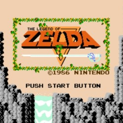 Legend of Zelda 1986 Nintendo