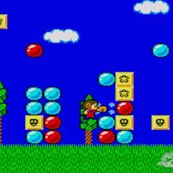 Alex Kidd 1986 Sega