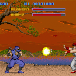 Street Fighters 1987 Nintendo