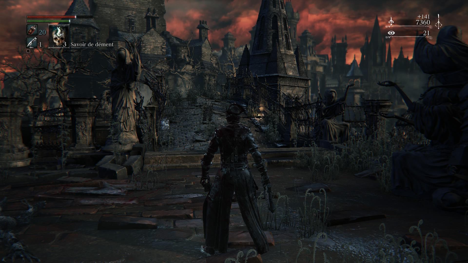 Bloodborne vieux yharnam