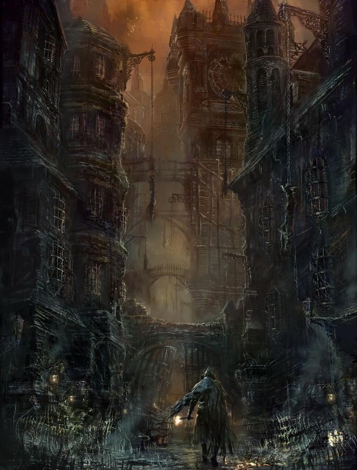 bloodborne artwork 5
