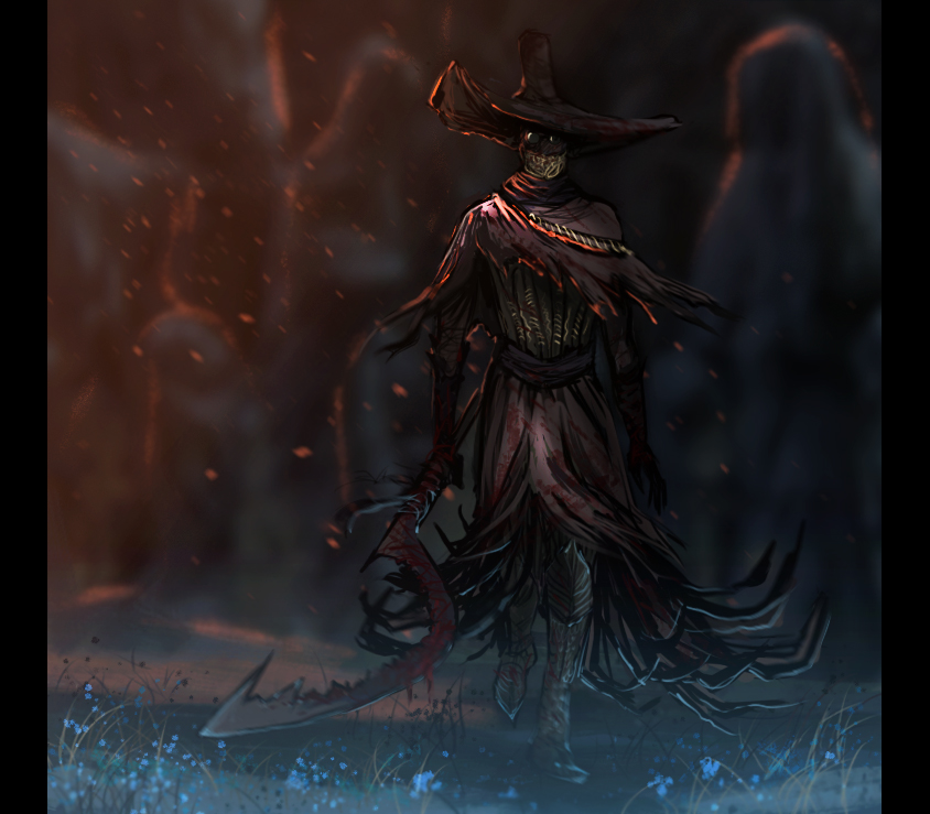 Bloodborne artwork Keeper of the Old Lords