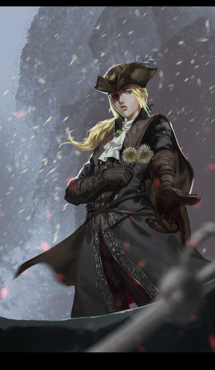 Lady Maria paint artwork