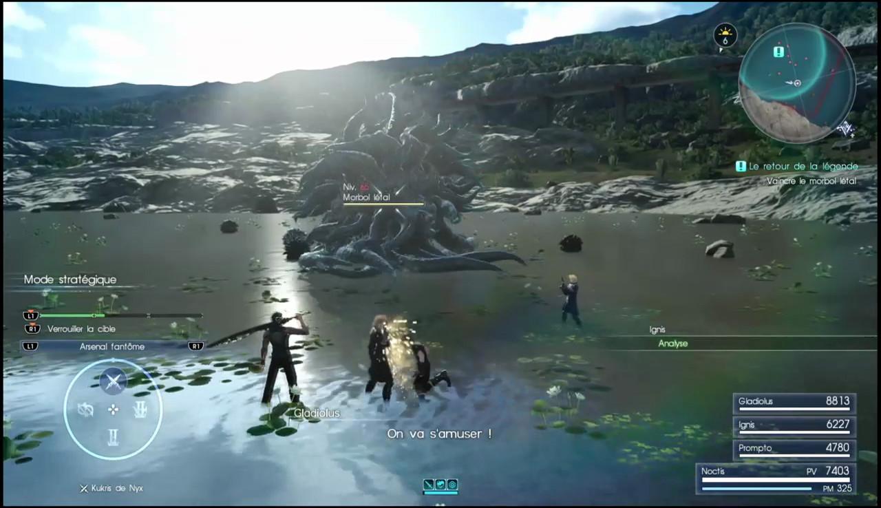 final fantasy 15-vaincre Morbol lethal-leblogdewilly