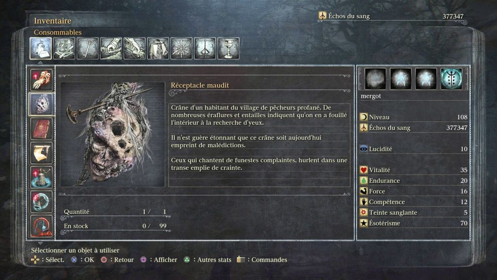 Bloodborne-receptacle maudit-leblogdewilly